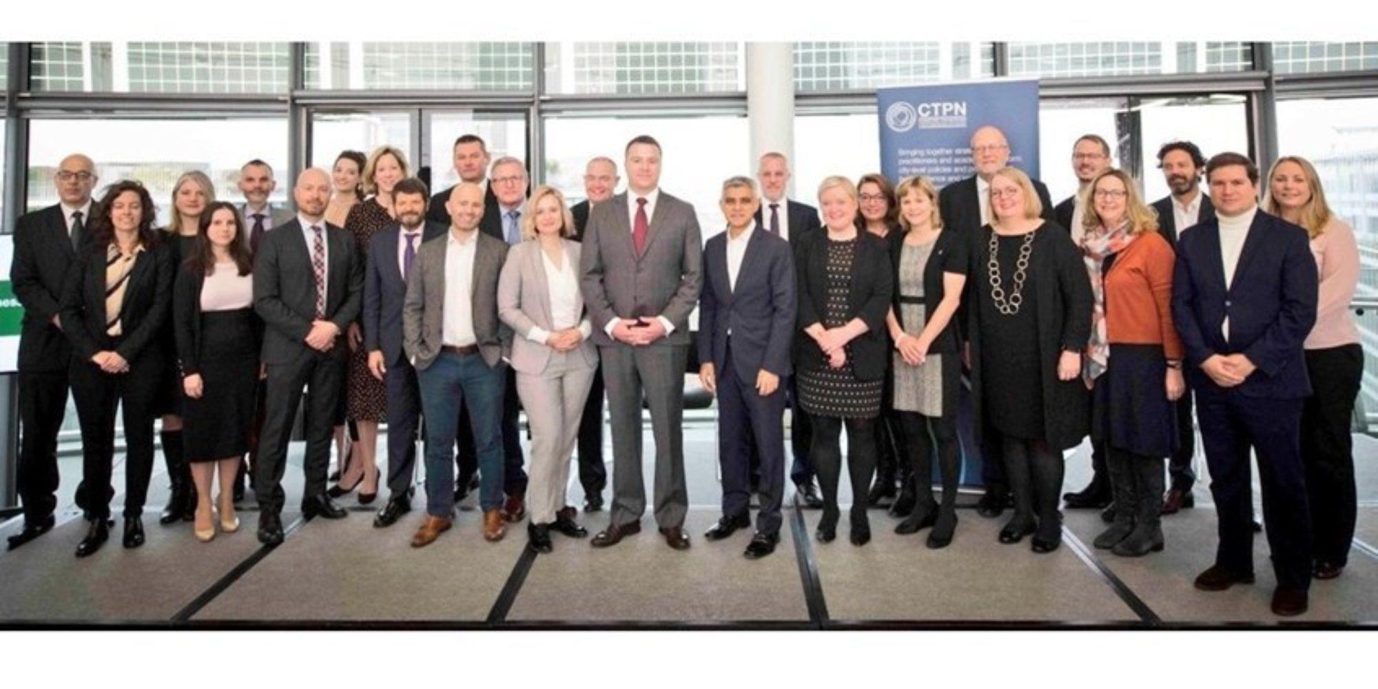 Marie-Christine Therrien et des chercheurs du Cité-ID, co-auteurs d'un rapport sur la coordination stratégique pour le réseau européen de préparation au contre-terrorisme lancé par le maire de Londres